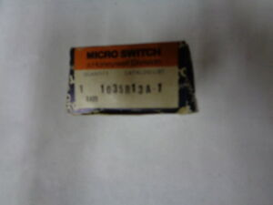 Honeywell Micro Switch 103sr13a 1 Switches