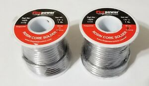 2lbs Worthington 96 4 Lead Free Solder 96 tin 4 silver 118in 3mm Dia 331863 New