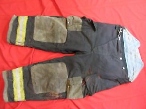 Globe Gx 7 Firefighter Bunker Turnout Pants 42 X 28 Thermal Liner Costume