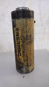 Enerpac Rrh 1060 60 Ton Hydraulic Cylinder Center Hole Hollow Plunger Ram
