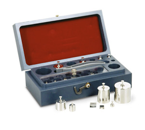 Rice Lake 8 Piece Stainless Steel Astm Class 2 Metric Test Weight Set 50g 1g