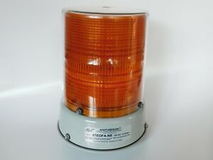 Edwards Signaling Products 57edfa n5 Heavy Duty Double Flash Amber Strobe