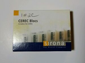 Sirona Cerec Blocks S2 Pc 14 Dental Teeth Tooth Systems Milling Unit 6 Total