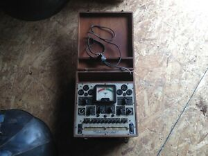 Precision Apparatus Model 912 Tube Tester Vintage Antique Radio Repair