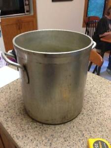 Large Pot Aluminum Vollrath Commercial Cook Nsf 10 Pounds