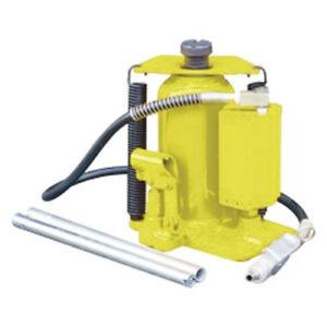 Esco Equipment 10446 20 Ton Air Hydraulic Bottle Jack Yellowjackit