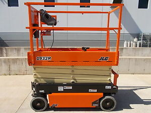 New Jlg 1932r Narrow Scissor Lift Manlift Brand New Model