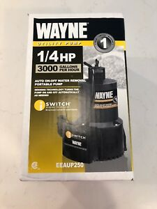 Wayne Eeaup250 51 Gpm Oil free Submersible Automatic Utility Pump