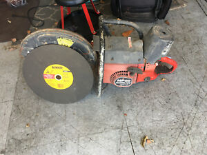 Homelite Mp88 Cut Off Saw 14 Inch demo Concrete Saw