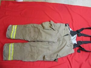 2007 Cairns Rs1 Firefighter Turnout Bunker Pants 44 X 32 Halloween Costume Gear