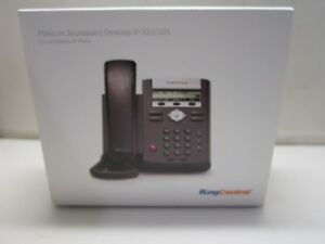 Genuine Polycom Ip335 2201 12375 001 Poe Desktop Phone
