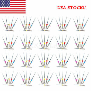 20pack Sx f3 Rotary Dental Shaping Niti Files Endo Root Canal Engine Use 25mm