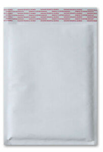 7 25 X 12 1 White Kraft Bubble Mailer Packing Supplies Bags 1000 Pieces