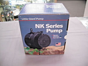 Submersible Centrifugal Pump 1 40 Hp Little Giant Nk 2 Nib