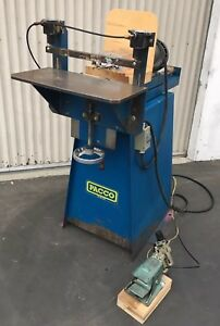 Pacco Dual head Horizontal Boring Machine woodworking Machinery