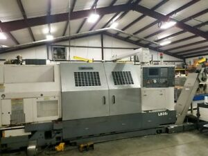 2004 Okuma Lb35ii 1500 Two Cnc Turning Center 2061