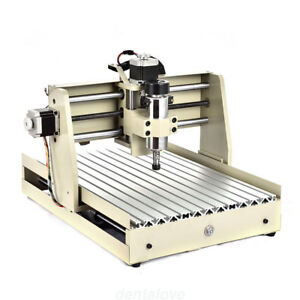 Cnc Router Engraver Engraving Cutter 4 Axis 3040 T screw Desktop Cutting 400w Us