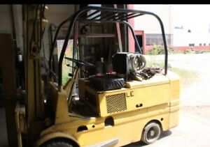 Yale Forklift 10 000 Lb Capacity Lp Gas With Boom Forks