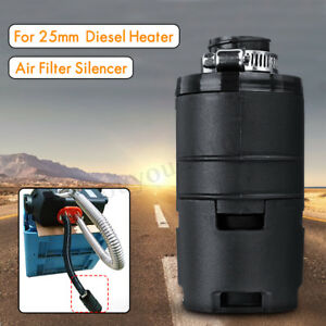Car Air Intake Filter Silencer Pipe 25mm For Eberspacher Webasto Diesel Heater