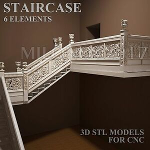 3d Stl Model Chair For Cnc Router Artcam Cut3d Aspire