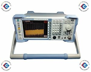 Rohde Schwarz Fsl6 Spectrum Analyzer 9 Khz To 6 Ghz used