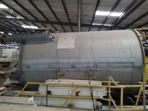 6000 Gallon 316 Stainless Steel Mix Tank W 4 Internal Ss Baffles