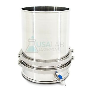 Usa Lab Stainless Steel 12 In Buchner Funnel Ss 304