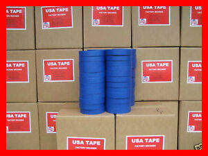 48 Rolls 1 X60 Yrd Blue Painters Masking Tape Made In Usa Quick Ship Famous