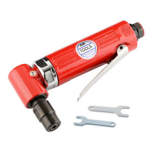 90 Air Pneumatic Right Angle Die Grinder Polisher Cleaning 1 4 Cut Off Cutting