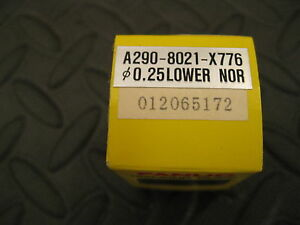 Fanuc 25 Lower Wire Edm Diamond Guide A290 8021 x776