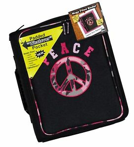 Mega Filled Binder Peace Camo