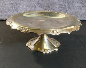 Vintage Tiffany Co Sterling Silver Pedestal Candy Dish Compote