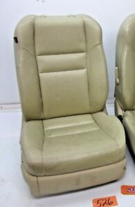 Fits 05 Tsx Passenger Side Front Seat Seats Bucket Tan Leather Car Right R Rh