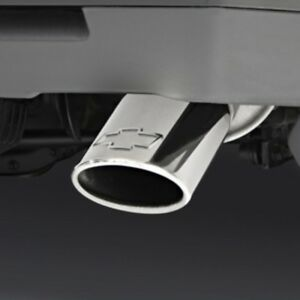 Polished Stainless Steel Dual Wall Exhaust Tip For Select Chevy Suvs