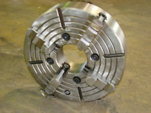 16 4 Jaw Chuck With A1 8 Mount