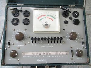 Knight Tube Tester Very Good Working Condition