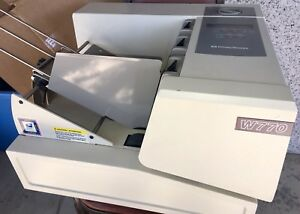 Pitney Bowes W770 Envelope Printer Pb W770 Printer With Manual