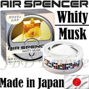 Eikosha Air Spencer Freshener As Cartridge Scent Made In Japan A43 Whity Musk