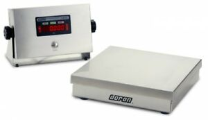 Stainless Steel Digital Bench Scale 500 Lb X 0 1 Lb