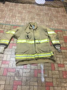 Firefighter Gear Turnout Jacket Cairns Reaxtion 4432 Halloween
