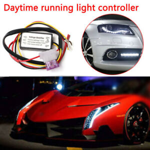 Practical Car Led Daytime Running Light Automatic On Off Controller Module Box