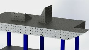 Welding Bench Extension 3d Fixture Table Extension Dxf Files Laser Profile