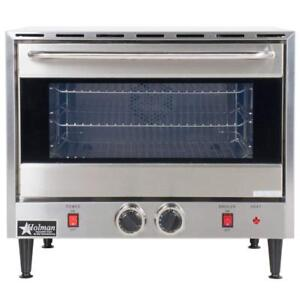 Holman Ccoh 3 25 Half size Countertop Convection Oven New Damaged Box