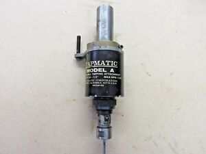 Tapmatic Model A Reversible Tapping Attachment 0 To 1 2 W 1 1 4 Strt Shank