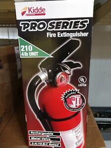 Kidde 21005779 Pro 210 Fire Extinguisher Abc 4 Lbs 1 Pack 1 pack All Brand New