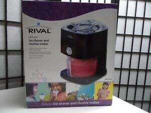 Rival Deluxe Ice Shaver And Slushie Maker