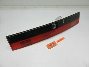 Saab 9000 Center Hatch Trunk Lid Taillight Tail Light Back Finish Panel Lamp Car