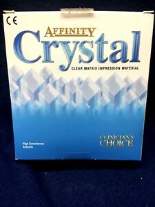 Affinity Crystal Clear Matrix Dental Impression Material Clinician s Choice