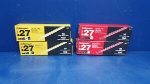 4 boxes Ramset 27 Cal Strip Loads 2 5rs27 Red 2 4rs27 Yellow 400 Shots