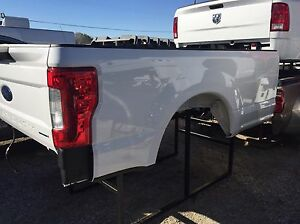 2017 18 Ford 8ft Super Duty Bed White Truck Bed F250 F350